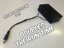 Double OCTOPAK 2-S 2 X 8 Cover Cased Desert Rated LED Strip Light Battery Pack