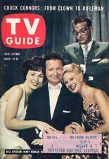 1959 TV Guide August 22 - Chuck Connors-Rifleman; Diana Lynn; Johnny Carson