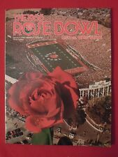 1985 Rose Bowl NCAA Football Program USC vs Ohio State
