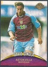 TOPPS PREMIER GOLD- 2000-01- #012-ASTON VILLA & FRANCE-DAVID GINOLA