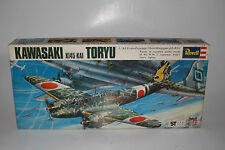 REVELL MODELS KAWASAKI TORYU JAPANESE WWII AIRPLANE, 1:72, JAPANESE ISSUE BOX #2