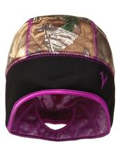 HOT SHOT REALTREE XTRA CAMO LADIES STRATOSPHERE STOCKING HAT BEANIE w/ PONYTAIL