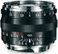 Zeiss f. Leica M C Sonnar T* 50 mm 1:1,5 ZM schwarz