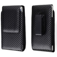 Black Vertical Holster Rotating Belt Clip Case Pouch For Apple iPhone 6s/LG G4