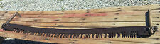 "GREAT OLD CROSS CUT SAW 2 MAN Wood Cutting 64"" Long LOGGING WOODEN HANDLES L@@K!"