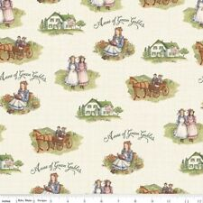 Riley Blake Anne of Green Gables C5860 Cream Scenic  Cotton Fabric BTY