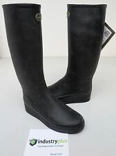 Womens Le Chameau Pairs Jersey Black 41 Rain boot Waterproof 9 Creek  Boot