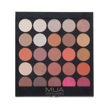 MUA MAKEUP BURNING EMBERS PROFESSIONAL EYESHADOW PALETTE Earthy Tones Golds Nude