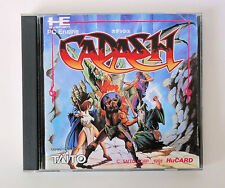 CADASH ( Taito ) * PC Engine JPN Import