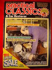 Practical Classics - Feb 1987 - Vol 7 #10 - Rolls - Bentley - A35 - Daimler