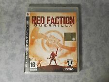 RED FACTION GUERRILLA - SONY PS3 PLAYSTATION 3 PAL ITALIANO COMPLETO COME NUOVO
