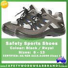 New Safety Sport Shoe Steel Toe Capped CAP Workwear Industrial AntiStatic 9E6