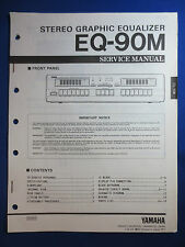 YAMAHA EQ-90M EQUALIZER SERVICE MANUAL ORIGINAL FACTORY ISSUE