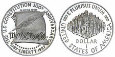 STATI UNITI/USA 1 DOLLAR 1987 S (CONSITUTION BICENTENNIAL) ARGENTO/SILVER #3464A