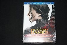 NEW THE HUNGER GAMES COMPLETE 4 FILM COLLECTION BLU RAY + DIGITAL HD 6 DISC SET