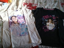 Lot de 2 T shirts manches courtes  violetta
