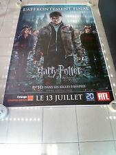 AFFICHE CINEMA ROULEE - HARRY POTTER ET LES RELIQUE DE LA MORT - 120x160