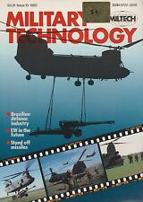 Military Technology - Vol. 9, No. 10 (1985) (EW, Stand-Off Missiles, Spetznaz)