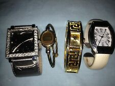 Lot of 7 Vintage Ladies Watches - Collezio, Terner, GG - Chain, Bangle, Vinyl