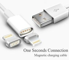 Magnetic Charging Cable USB Adapter Charger For iPad / iPhone 5/5S 6/6S 7/7 Plus
