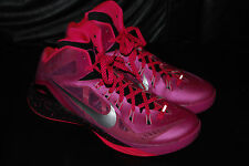 Men's Nike Hyperdunk 2014 Think Pink Breast Cancer Sneakers (11) 653640-606