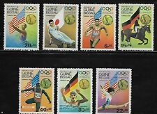 Guinea Bissau 611-17 Summer Olympic Sports Mint NH