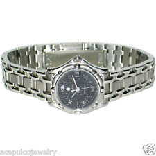"CONCORD SARATOGA SL Stainless Steel Ladies Mosaic Dial Watch ""New Old Stock"""