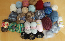 Mix Lot 29 Skeins Merino Wool Cotton Blend PLYMOUTH Tinker Bell Filatura Yarn