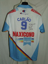 MAGLIA SHIRT PALLAVOLO VOLLEY SPORT MAXICONO PARMA CARLAO 9 SIGNED