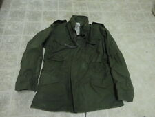 VINTAGE ORIGINAL US ARMY AFTER VIETNAM FIELD JACKET M65 NOT MUCH USED 1980