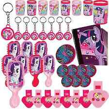 48pc My Little Pony Mega Value Favors Pack Girl Birthday Decoration Party Supply