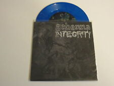 "GEHENNA / INTEGRITY split 7"" BLUE VINYL UNPLAYED"