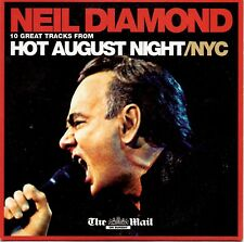 NEIL DIAMOND - HOT AUGUST NIGHT/NYC - MAIL PROMO MUSIC CD @@LOOK@@
