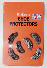 6 x no 6 new blakey shoe segs heel size blakey's loose pack heel toe protection