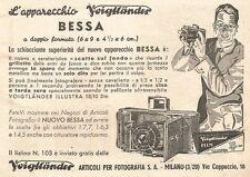 W2407 L'apparecchio VOIGTLANDER Bessa - Pubblicità del 1935 - Old advertising