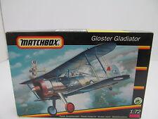 eso-10920 Matchbox 40062 1:72 Gloster Gladiator Bausatz geöffnet,