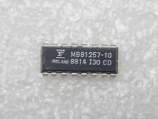 Lotto x5:ci MB 81257-10 ic MB81257-10 MOS 262,144-BIT RAM dinamica dip16 PLA029