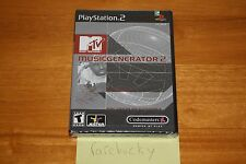 MTV Music Generator 2 (PS2 Playstation 2) NEW SEALED Y-FOLD W/UPC, MINT!
