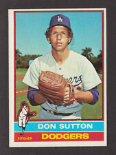 1976 Topps #530 DON SUTTON Dodgers NRMT No Creases