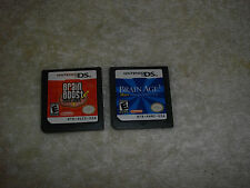 Brain Boost: Beta Wave (Nintendo DS, 2006) and brain age 2 games only
