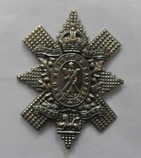 BRITISH ARMY CAP BADGE. THE BLACK WATCH ( ROYAL HIGHLANDERS ).