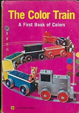 The Color Train a First Book of Colors Golden Press Book Shinwa Trading 1960s