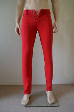 NEW Abercrombie & Fitch Skinny Vintage Jeans Red 30 x 32 RRP £78