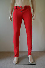 NEW Abercrombie & Fitch Skinny Vintage Jeans Red 33 x 32 RRP £78