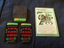 Las Vegas Roulette (cart + instructions) Intellivision FREE SHIP TO CANADA