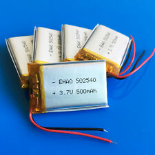 5 pcs 500mAh 3.7V Li Po Battery for MP3 DVD GPS PSP Camera Mobile Phone 502540