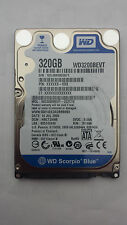 WESTERN DIGITAL WD3200BEVT-22ZCTO 320GB DCM: HBCT2ANB 2.5 Sata Laptop Hard Drive
