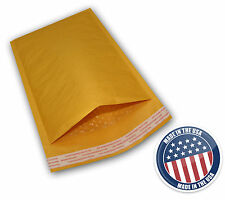 250 for CD 7.25x8  Kraft Bubble Mailers Padded Envelop Hak