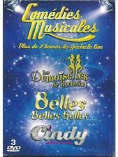 COFFRET 3 DVD NEUF - LES DEMOISELLES DE ROCHEFORT - BELLES BELLES BELLES - CI