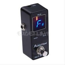 Sound LCD Screen PT-06 Chromatic Guitar Effects Pedal Tuner Bypass Tuning New